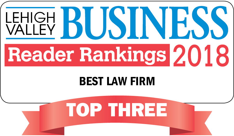Lehigh Valley Business Readers Name KingSpry 2018 Top Law Firm